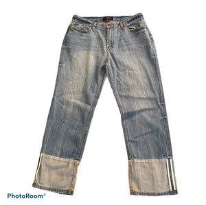 Who What Wear Crop Jeans Light Wash Size 6 NEW